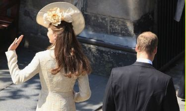 Η βασιλική οικογένεια στον γάμο της Zara