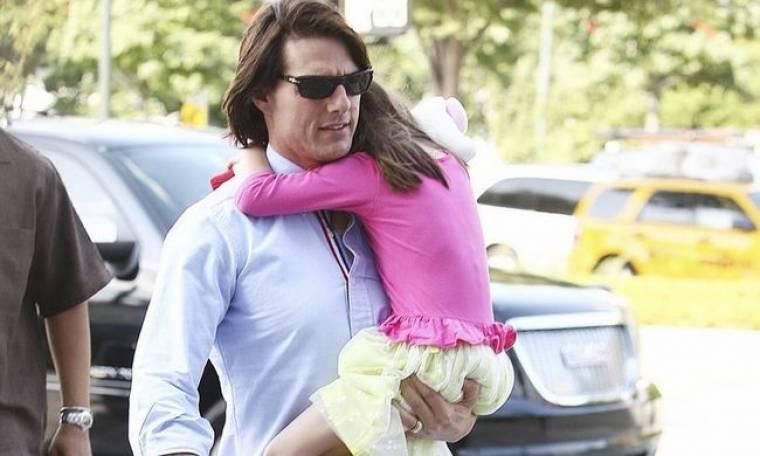 Tom Cruise: Βόλτα με την κόρη του