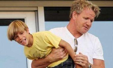 Baby-sitter του… Beckham ο Gordon Ramsay;