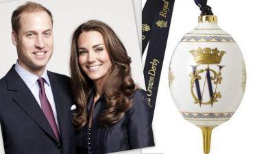 Χριστουγεννιάτικη μπάλα αξίας 85 λιρών για την Kate και τον William