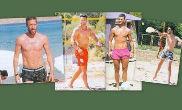 Τα ωραιότερα αντρικά κορμιά στις ελληνικές παραλίες