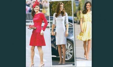 Kate Midleton: Με ένα ζευγάρι παπούτσια