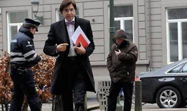 Επίθεση με... τάρτα στον πρωθυπουργό του Βελγίου