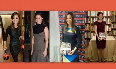 Έβαλε τέσσερα διαφορετικά φορέματα για να παρουσιάσει το βιβλίο της!