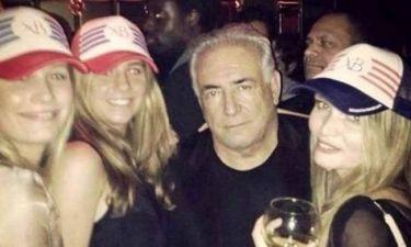 Αμετανόητος ο Στρος Καν: Γιορτάζει με 3 ξανθιές καλλονές σε κλαμπ