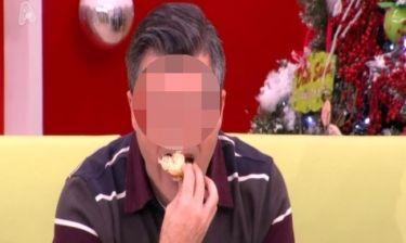 Ποιον παρουσιαστή «συνέλαβε» η κάμερα να τρώει on air