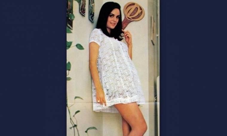 Σπάνιες φωτογραφίες απο το 1970 της πρώτης ελληνίδας «Μις Υφήλιος» Κορίνας Τσοπέη