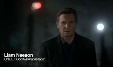 Τηλεοπτικό σποτ για την βία κατά των παιδιών με αφηγητή τον Πρεσβευτή Καλής Θέλησης της UNICEF Λιαμ Νίσον! (βίντεο)