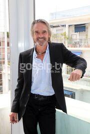 O Jeremy Irons στην Αθήνα