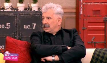 Πέτρος Φιλιππίδης: «Δουλεύω πολύ γιατί αισθάνομαι ότι δεν θα προλάβω να κάνω κάποια πράγματα»