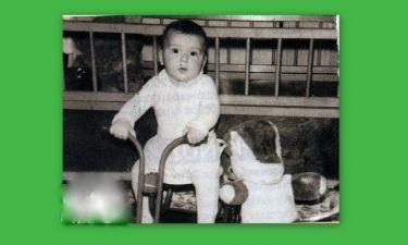 Η πρώτη του βόλτα με την μηχανή