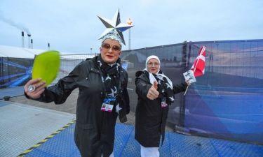Eurovision 2014: Ο Verka Serduchka πήγε στην Κοπεγχάγη με το αστέρι του