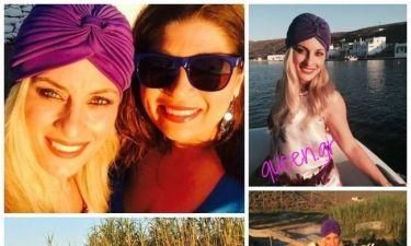 «Και οι 6 ήταν υπέροχες: Οι λαμπερές διάσημες παρουσίες στον γάμο της Δέσποινας Καμπούρη»