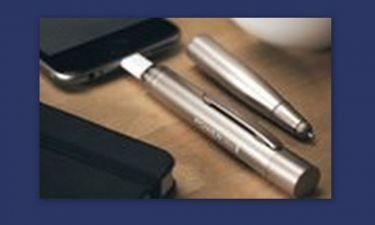 Το στυλό του 007 φορτίζει συσκευές