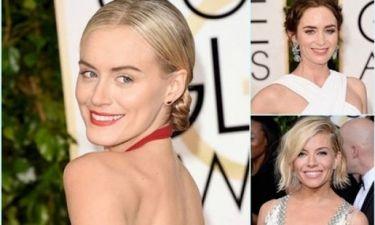 Αυτά είναι τα beauty looks που ξεχώρισαν στις Χρυσές Σφαίρες 2015!