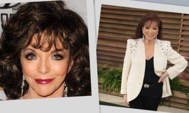 Απαρηγόρητη η Joan Collins: Έχασε τη μικρότερη αδελφή της!