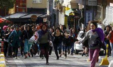 Επεισοδιακή η διαδήλωση των γυναικών στην Κωνσταντινούπολη