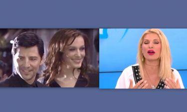 Δείτε τι είπε on air η «νονά» Μενεγάκη για το όνομα του νεογέννητου,που θα δώσουν Σάκης - Κάτια