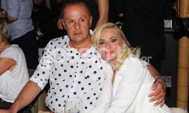 Μαρία Μπεκατώρου: Για δείπνο με τον σύζυγό της
