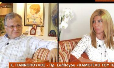 Γιαννόπουλος: 15 μέρες μετά την επέμβαση και την περιπέτεια υγείας του συγκλονίζει....