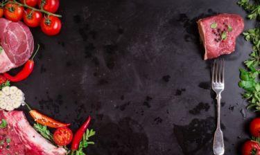 Κόκκινο κρέας: Οδηγός για τις ποσότητες και το μαγείρεμα