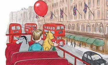 Ο Winnie the pooh έχει γενέθλια και τα γιορτάζει με τον Πρίγκιπα George