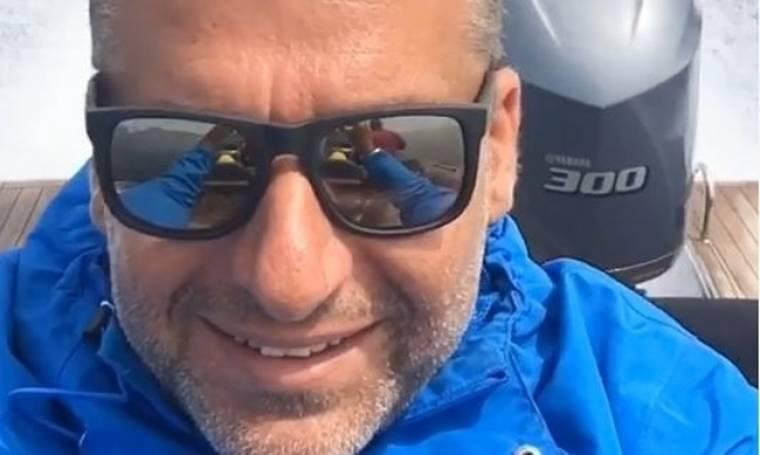 Γιώργος Λιάγκας: Στα Κουφονήσια με το σκάφος του (φωτο)