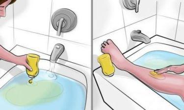 Βάζει μουστάρδα στην μπανιέρα, ο λόγος θα σας εντυπωσιάσει!