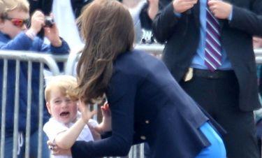 Έβαλε τα κλάματα ο Πρίγκιπας George