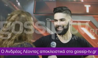 X-Factor: Ανδρέας Λέοντας: Δεν πίστεψα λεπτό οτι θα κερδίσω, εύχομαι να μην έχει θυμώσει ο Ίαν