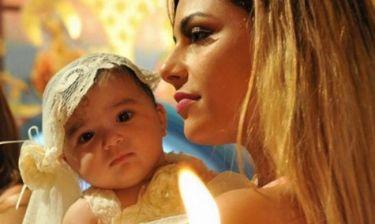Η γλυκιά αναμνηστική φωτογραφία της Ελευθερίου: Πριν ένα χρόνο έγινε νονά