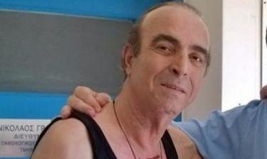 Γιώργος Βασιλείου: Η νέα φωτογραφία μέσα στο νοσοκομείο και το μήνυμά του