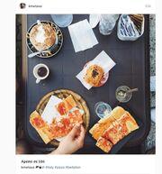 Από τη Μύκονο…πρωινό στην Ιταλία