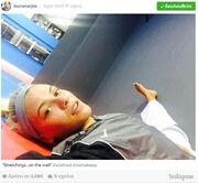 Λάουρα Νάργιες: Προπόνηση στο Tae Kwon Do από τον αγαπημένο της Μιχάλη Μουρούτσο! (φωτό)