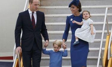 Ο πρίγκιπας George έκανε μέχρι και τον Πρωθυπουργό του Καναδά να υποκλιθεί