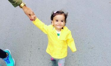 Απογευματινή βόλτα με την ανιψιά της
