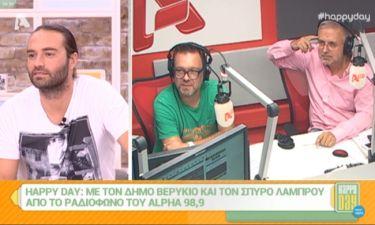 Ο Κώστας Φραγκολιάς για τη σχέση του με τον Δήμο Βερύκιο: «Είναι σαν να είµαι ο ατίθασος υιός»