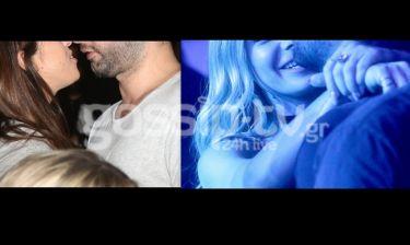 Μετά τις φωτό αγκαλιά με τη νέα του σύντροφο χθες βράδυ διασκέδασε στην αγκαλιά της πρώην του