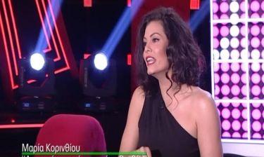 Μαρία Κορινθίου: Πώς αντέδρασε όταν είδε την «γκάφα» του Ρουβά στο «The Voice»