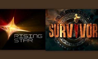 «Survivor»:  Απίστευτα νούμερα τηλεθέασης – Δείτε τη διαφορά του από το «Rising Star»