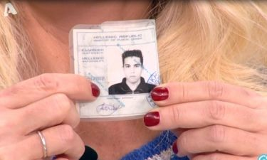 Μενεγάκη: Δεν πίστευε με τίποτα πόσο χρονών είναι ο Τσούλης και ζήτησε ταυτότητα!