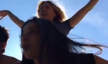 Καρύδη - Συριοπούλου: Άρχισαν να... πετάνε πάνω από τη Αίγινα