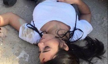 Θύμα τροχαίου η Ευγενία Σαμαρά. Εικόνες σοκ (Nassos blog)