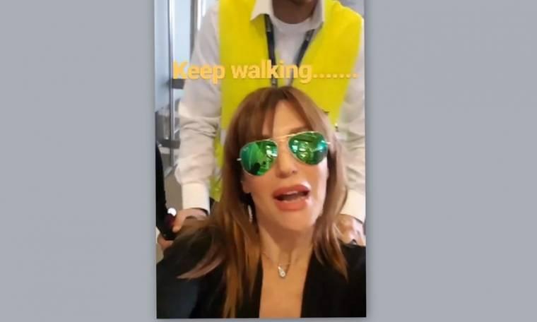 Η Βίκυ Χατζηβασιλείου επέστρεψε στην εκπομπή με καροτσάκι