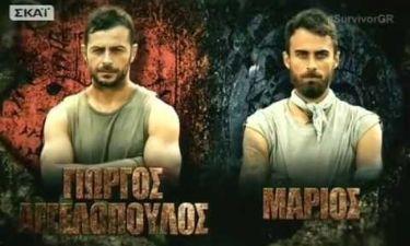 Survivor: Μάχη για… δυο. Στην κορυφή ο Γιώργος Αγγελόπουλος