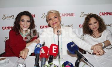 Όσα έγιναν στην συνέντευξη τύπου Μαρινέλλας-Βιτάλη-Γλυκερίας