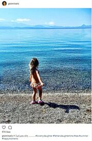 Γιάννης Τσιμιτσέλης: Η τρυφερή φωτογραφία της κόρης του στην παραλία