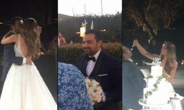 Γάμος Τσολάκη. Η ατάκα του γαμπρού και το γκολ (Βίντεο) (Nassos blog)