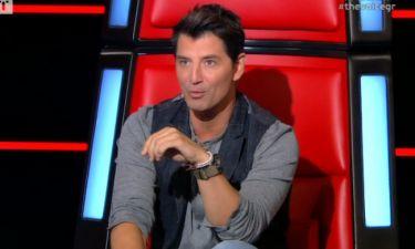 The Voice: Σάκης Ρουβάς: «Έχω χάσει την φωνή μου»