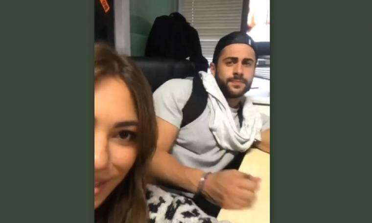To βίντεο της Βαλαβάνη μετά το δημοσίευμα για τη σχέση τους
